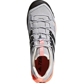 adidas TERREX Solo Shoes Damen grey two/carbon/chalk coral